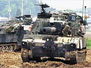 美韩以朝为假想敌军演意在威慑中俄