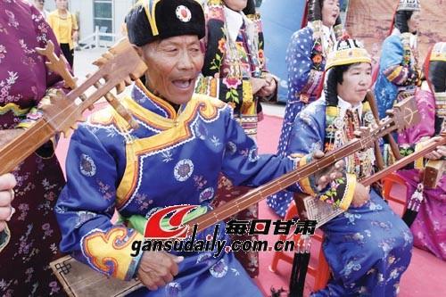 库尔勒的蒙古族民间艺人