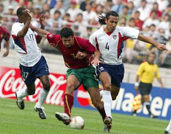 9瞬间看菲戈世界杯之旅黄金一代冠军梦终成泡影