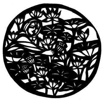 每日甘肃 文化 民间综艺 正文    剪纸在中国民间美术中可说是最为