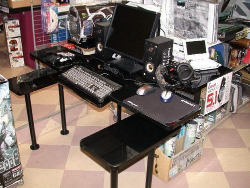 组装电脑桌步骤图键盘那怎么安