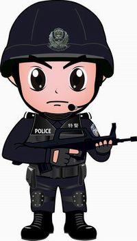 警察卡通亮相石家庄(警察)-亮相,一带,表情,石五音图组图包抖里卡通字图片