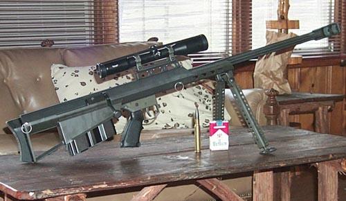 美国巴雷特M95型狙击步枪图片