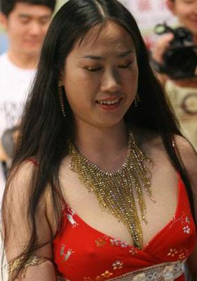 芙蓉姐姐红衣热舞激凸