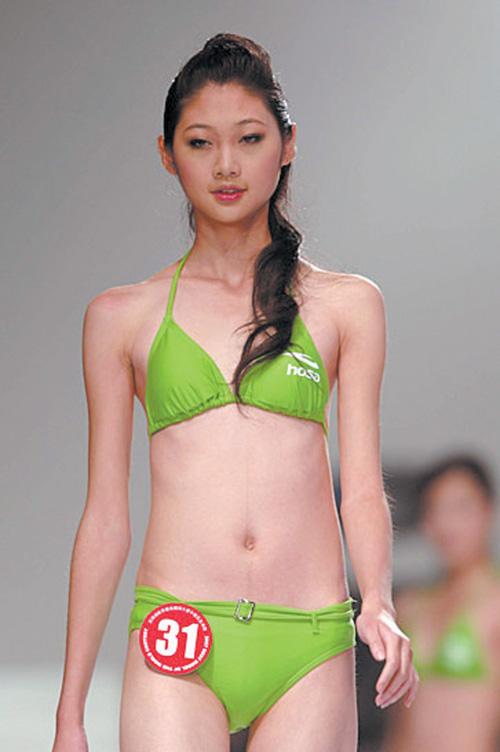 白银女孩获世界最佳模特大赛中国赛区总冠军
