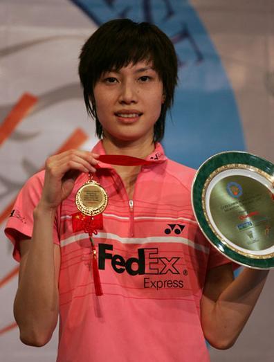 羽毛球香港赛 谢杏芳轻取朱琳卫冕女单冠军