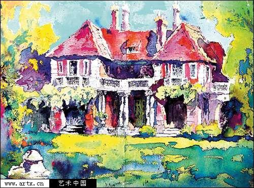 上海国际时尚联合会_上海纪念中国水彩画百年-上海,纪念,中国,水彩画,-每日甘肃-文化
