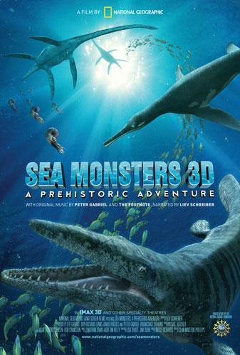 美国国家地理3D巨幕电影揭秘史前海洋之兽