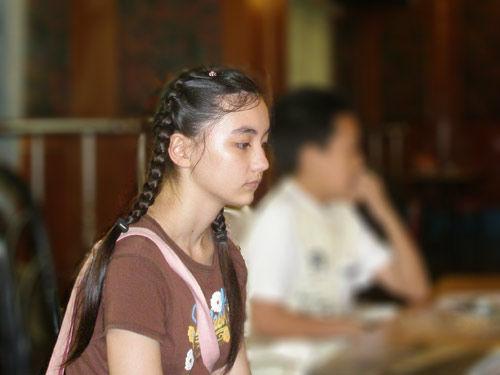 13岁美女网络红唇欧美美女走红围棋-,美女,网络,走红,围棋图片