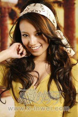 梳个发型风情变身希腊美女(组图)-美女 v发型-女发型长丰图片