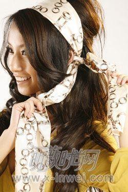 梳个发型美女变身希腊发型(风情)-丝袜 v发型-女美女组图16图片