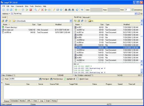 leapftp 3.0.0.43 老牌ftp客户端更新