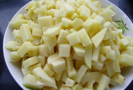 土豆片怎么切图解步骤