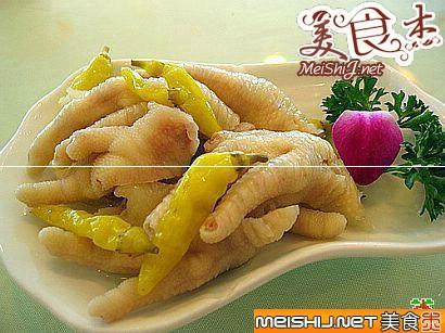 香港小吃:凤爪的螺丝洋葱炒做法肉图片
