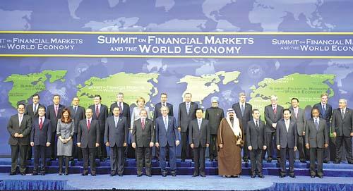 胡锦涛出席世界经济峰会_导人金融市场和世界经济峰会15日在美国首