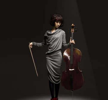 尚雯婕变身大提琴手