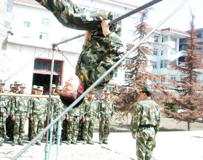 定西消防多种形式冬季大练兵