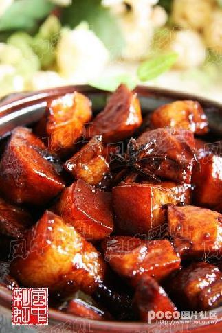 中关_解馋肉食 红烧五花肉-五花肉-每日甘肃-美食