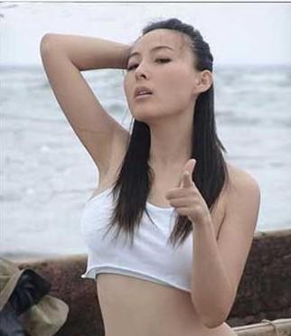被当作高官情妇卢嘉丽的子璇图片在网上流传.(资料图)