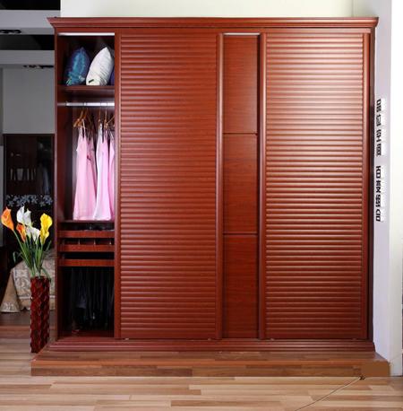 美式衣柜柜面哑光木纹纹理图片