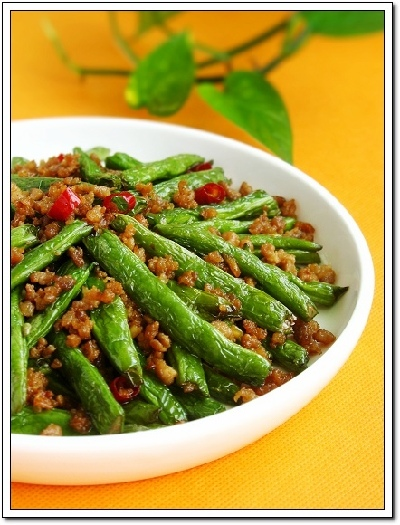 green beans 2 jpg sichuan dry fried long beans chinese long beans with ...