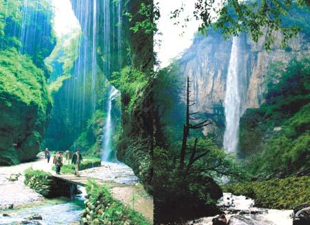 宕昌官鹅沟国家森林公园(国家4a级旅游景区,省级地质公园)