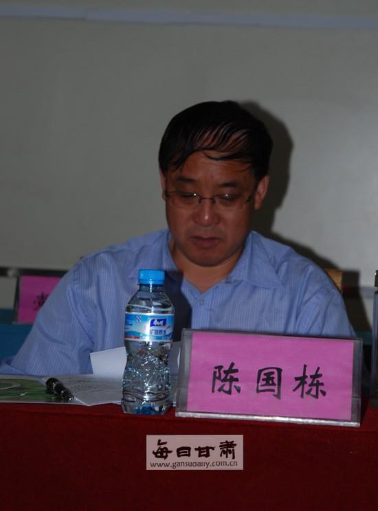 岷县县委书记陈国栋出席会议