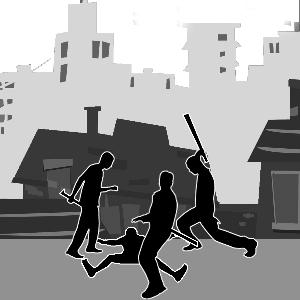 每日甘肃 甘肃 社会新闻 正文  回家途中遭3暴徒棒打刀砍险些丧命