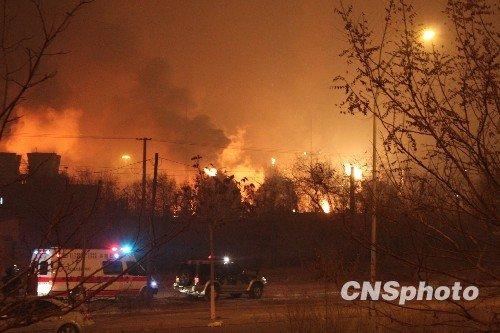 兰州石化爆炸事故失踪5人确认罹难 火势已被控制