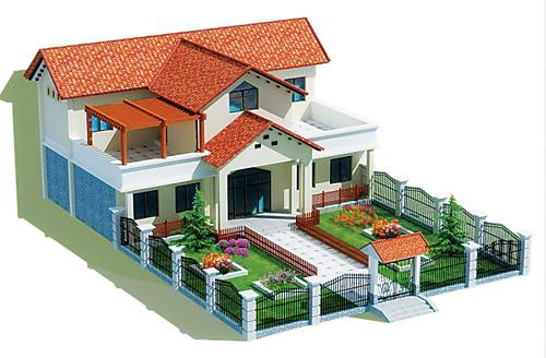 农家院设计平面图
