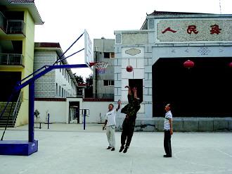 天水市武山县高楼乡刘川群众文化活动广场
