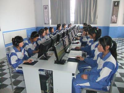 青岛二中分校教室