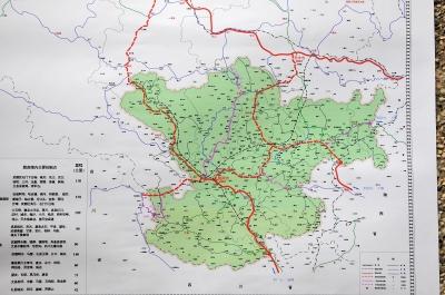 甘肃省平凉至武都高速公路成县至武都段(示意图)