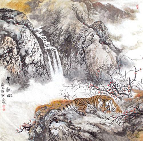 山中王 高永明工笔画作品欣赏