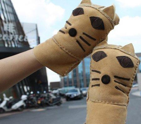 看上去既像是猫,又像是可爱的小老虎,不管是什么,我们能够看出来,设计