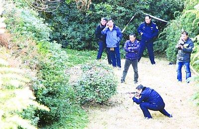 南京街头窜出野猪拱倒环卫工 警方持微冲击毙