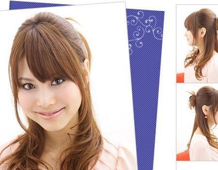 最流行的发型:公主头是每个女生的最爱