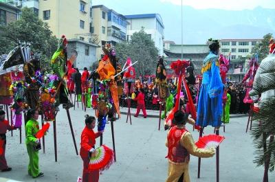 正月里来是新春-陇南,-每日甘肃-陇南日报