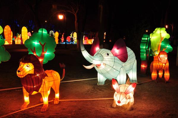 动物花灯制作方法