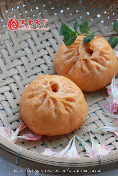 包子的做法_胡萝卜蔬菜肉包子-小吃-每日甘肃-美食