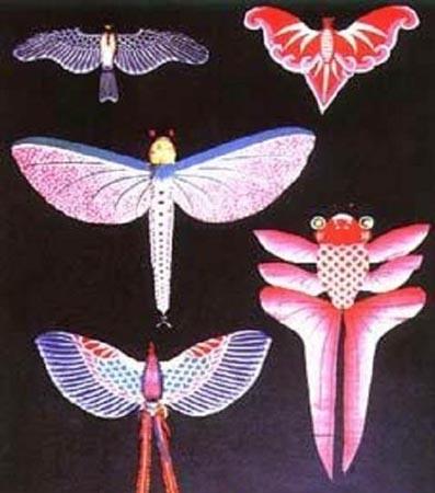 儿童手工制作燕子风筝
