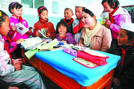 东乡族自治县努力提高教育教学质量--每日甘肃
