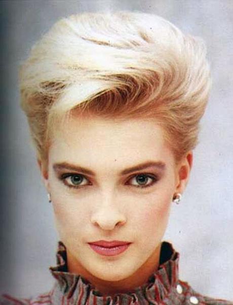 懷舊盤點:80年代最潮的那些經典發型圖片