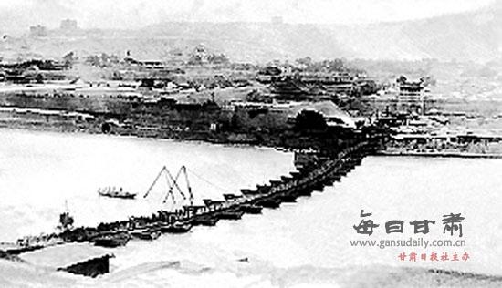 兰州黄河铁桥作文_【探秘】百年中山桥:一座桥与一个城市的记忆(图)-探秘|中山桥