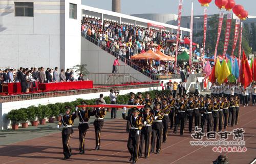 运动会开幕式-甘肃农业大学2011年田径运动会隆重开幕