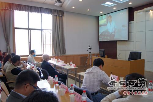 北师大援建西北师大博士生学术工作室开通典礼举行