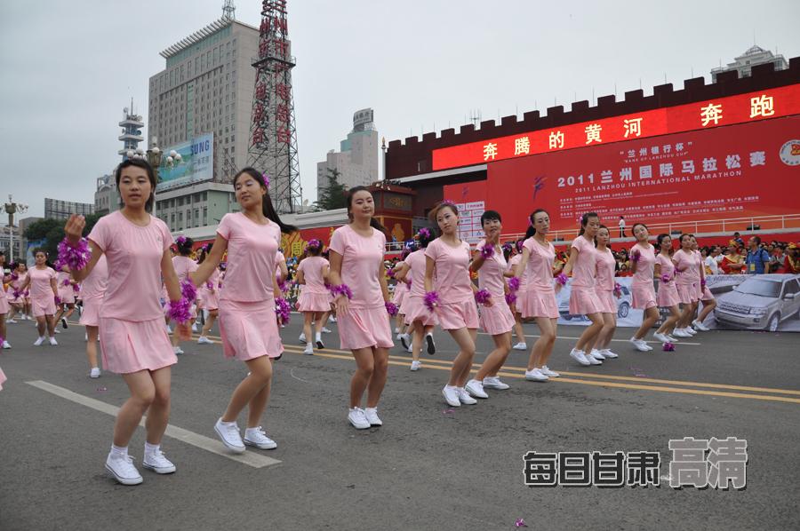 甘肃联合大学景色; 兰州国际马拉松赛