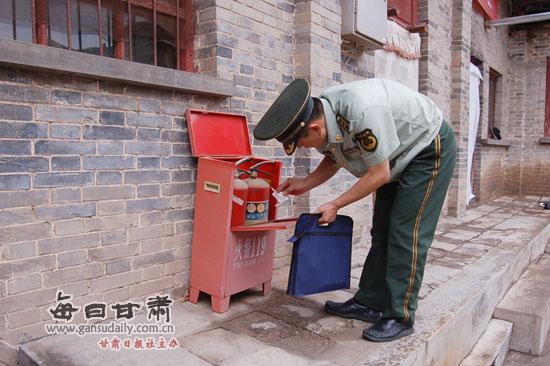 """平凉市为国家5a级旅游景区,文物古建筑上消防""""安全锁"""""""