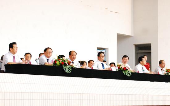 西北师范大学隆重举行2011级学生开学典礼