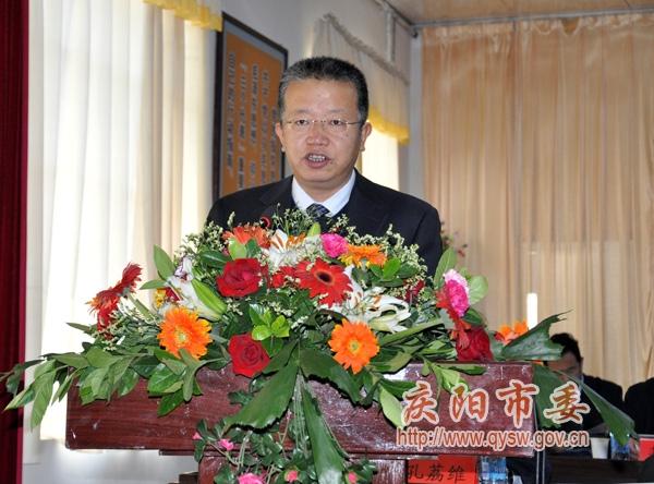 镇原县/中国共产党镇原县第十五次代表大会胜利召开